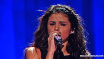 Selena Gomez -- Cries Onstage During Song (Allegedly) About Justin Bieber