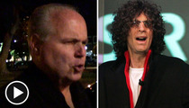 Rush Limbaugh -- Takes Weak-Ass Shot at Howard Stern
