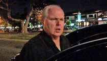 Rush Limbaugh -- DISSIN' HOWARD STERN ... 'I Don't Know Who You're Talking About'