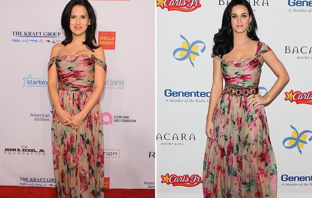Dueling Dresses: Hilaria Baldwin vs. Katy Perry!