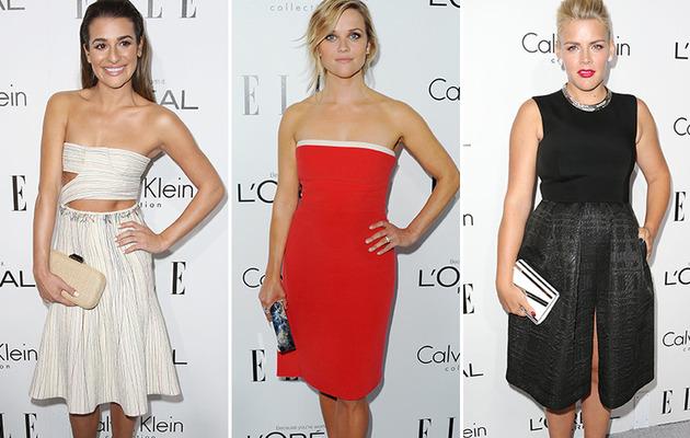 Skinny Lea Michele Walks First Red Carpet Since Cory's Death