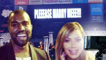 Kanye West's Marriage Proposal -- Coming to a Kardashian Show Near You