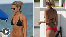 'Bachelor' Hottie Nikki Farrell -- 2 Cheeks Up on Her Competition
