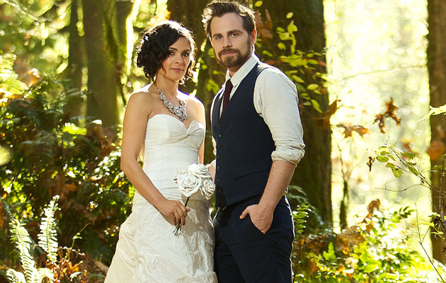 Rider Strong Is Married -- See New Pics from His Wedding!