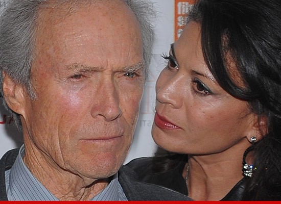 Clint eastwood s wife dina files for orce tmz com