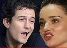 Orlando Bloom & Miranda Kerr -- WE'RE GETTIN