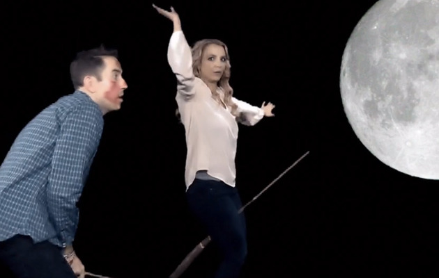 Britney Spears Does Halloween Video -- It's Britney, Witch!