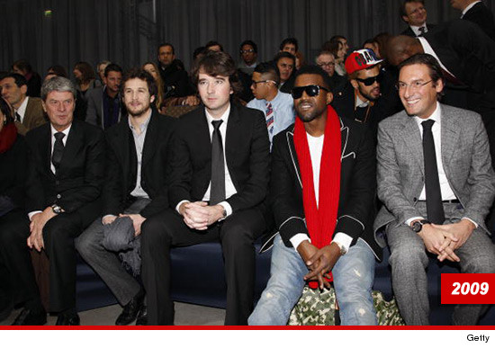 1028-Yves-Carcelle,-Guillaume-Canet,-Antoine-Arnault,-Kanye-West-Pietro-Beccari-getty