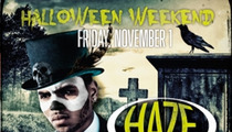 Chris Brown -- L.A./Vegas Halloween Parties Go Down in Flames