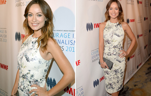 Olivia Wilde Debuts Tiny Baby Bump on Red Carpet