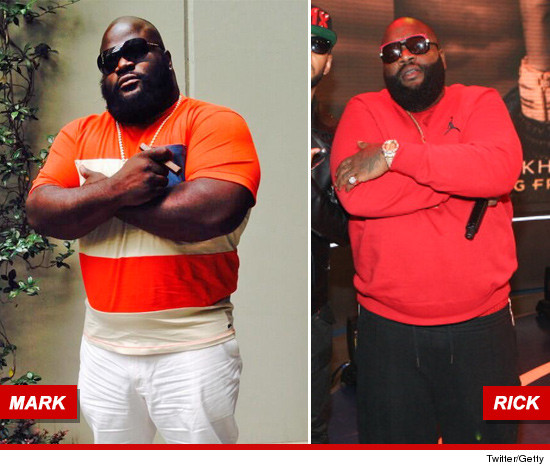 Rick Ross Look Alike WWE veteran Mark Henry...