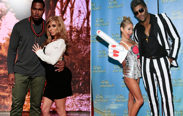 Kelly Ripa & Michael Strahan Do Kim, Miley & Sharknado for Halloween