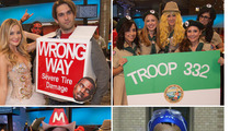 TMZ Staff Halloween -- Macho Man, Kanye Sign & More ... OOOOOH YEAHHH!!!
