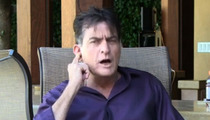 Charlie Sheen -- The Judge Who Jails Me Is a Fat, Dishonorable Douchebag