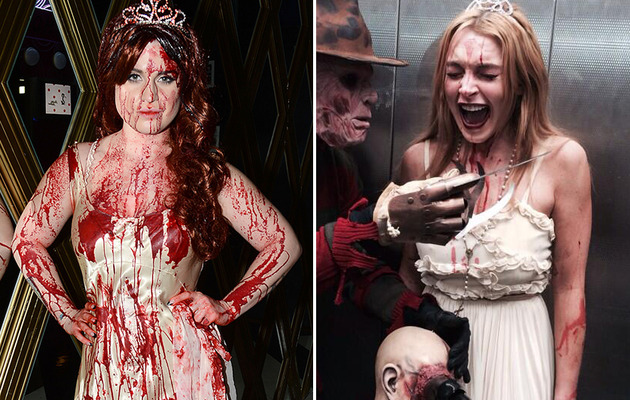Similar Celeb Halloween Costumes -- Who Wore Them Better?