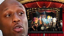 Lamar Odom -- DRUNK At Beacher's Madhouse