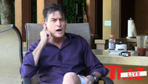 Charlie Sheen -- My Kids Are in Danger ... My Ex Brooke Mueller is an Evil Whore