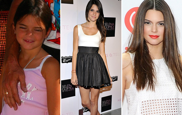 Kendall Jenner Turns 18 -- See the Reality Starlet Then & Now!
