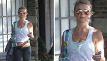 Julianne Hough -- Wearing Whiteface