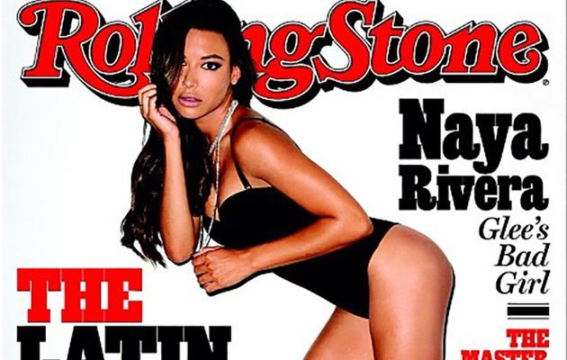 Naya Rivera Flaunts Ridiculous Body on Cover of Rolling Stone!
