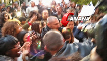 Ariana Grande -- Sacre Bleu! Crazed Fans Mob Star In Paris