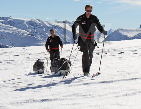 "<strong>Prince Harry</strong><span>, </span><strong>Alexander Skarsgard</strong><span>, and ""</span><strong>300</strong><span>"" actor </span><strong>Dominic West</strong><span> are getting down to the wire before their epic race to the South Pole later this month -- and TMZ has obtained awesome photos of their training sessions from around the world.</span>"