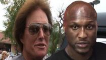Bruce Jenner & Lamar Odom -- Best Buds in Malibu