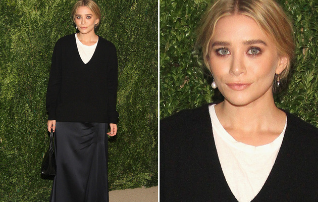 Too Drab! Ashley Olsen Channels Schoolmarm on Red Carpet