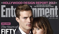 "First Pic of Jamie Dornan & Dakota Johnson in ""Fifty Shades of Grey"""