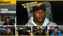Bo Jackson -- Raider Nation Is Mourning Todd Christensen
