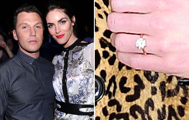 Hilary Rhoda Engaged to Sean Avery -- See the Ring!
