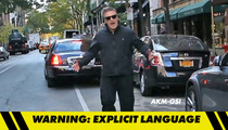 Alec Baldwin -- Chases Down Photog -- 'C**ksucking F*g!'
