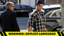 Sylvester Stallone Hurls N Word at Paparazzi