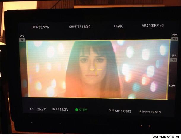 Lea Michele inset