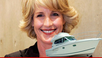 Erin Brockovich -- Free & Clear After Drunk BOATING Arrest