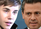 President of Mexico -- CALLS OUT JUSTIN BIEBER