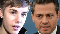 President of Mexico -- CALLS OUT JUSTIN BIEBER ... Sorry, I Never Met You