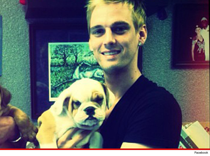 Aaron Carter -- I Lied ... My Dog's NOT Really Worthless
