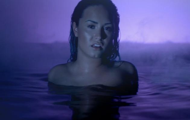 """Demi Lovato Shows Sensual Side in """"Neon Lights"""" Video!"""
