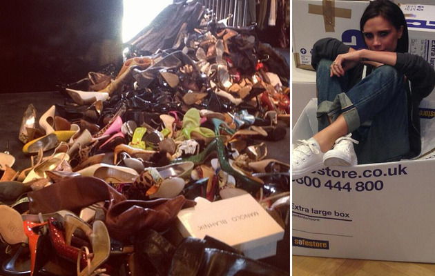 Victoria Beckham Donates Shoes For Typhoon Haiyan Aid