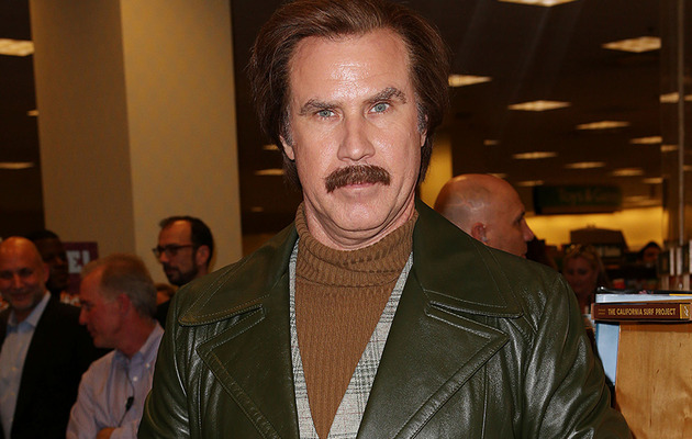 Will Ferrell Does Hilarious Book Signing as Ron Burgundy!