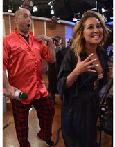 "Ewww! Adrienne Bailon Kisses Random Guy on ""Bethenny"""