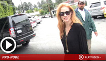 'Zero Dark Thirty' Star Jessica Chastain -- I'll Get Naked for...