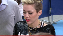 Miley Cyrus -- Birthday Burglary Victim