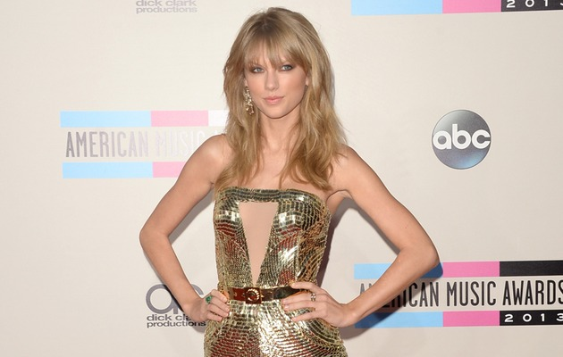 Taylor Swift Sizzles at American Music Awards -- See the Sexy Pics!