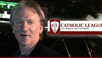Bill Maher -- Catholics Demand Boycott ... One Priest Joke Too Many