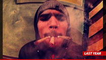 Chris Brown in Rehab -- Take My Phone & Internet, But Let Me Keep My Weed!!!