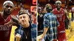 LeBron James Geeks Out Over Macklemore!