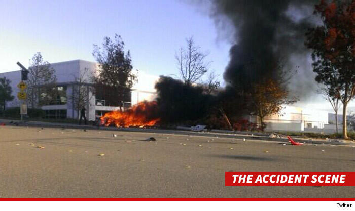 foto accidente coche paul walker
