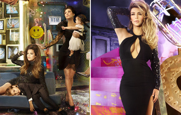 The Kardashian Christmas Card is the Kraziest Yet!